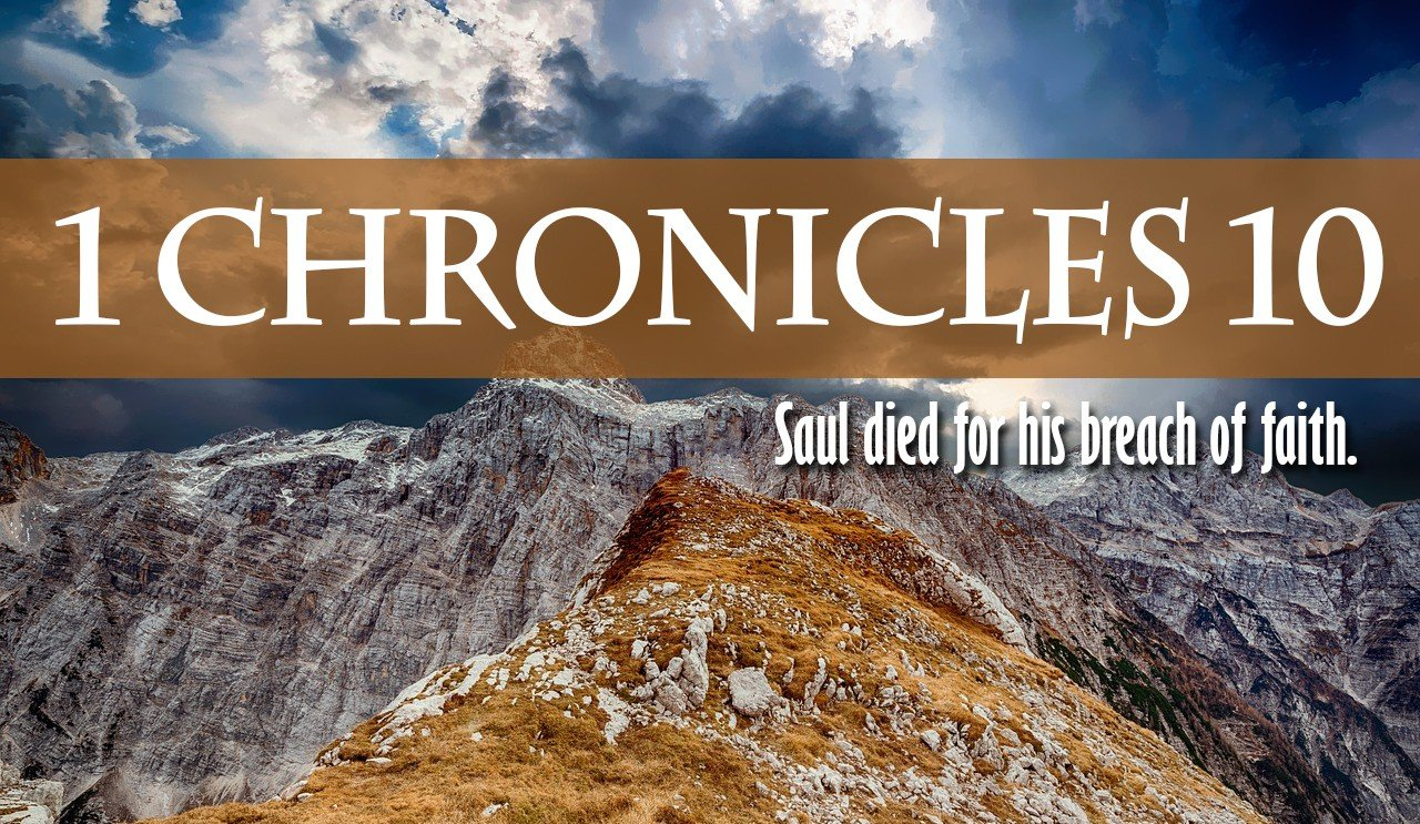 1 Chronicles 10