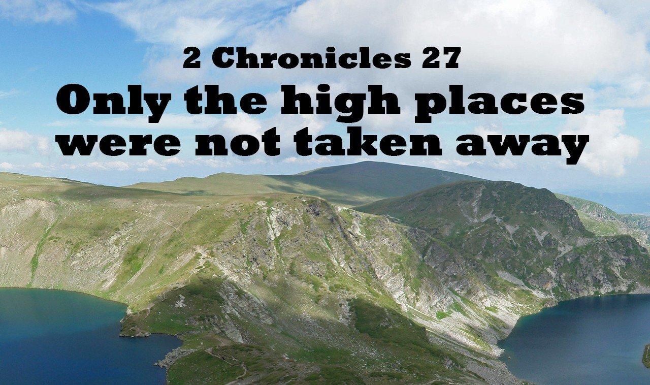 2 Chronicles 27
